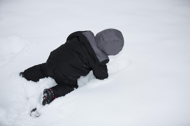 Oops, I fell down...
